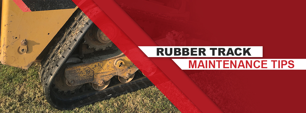 How to maintain rubber tracks