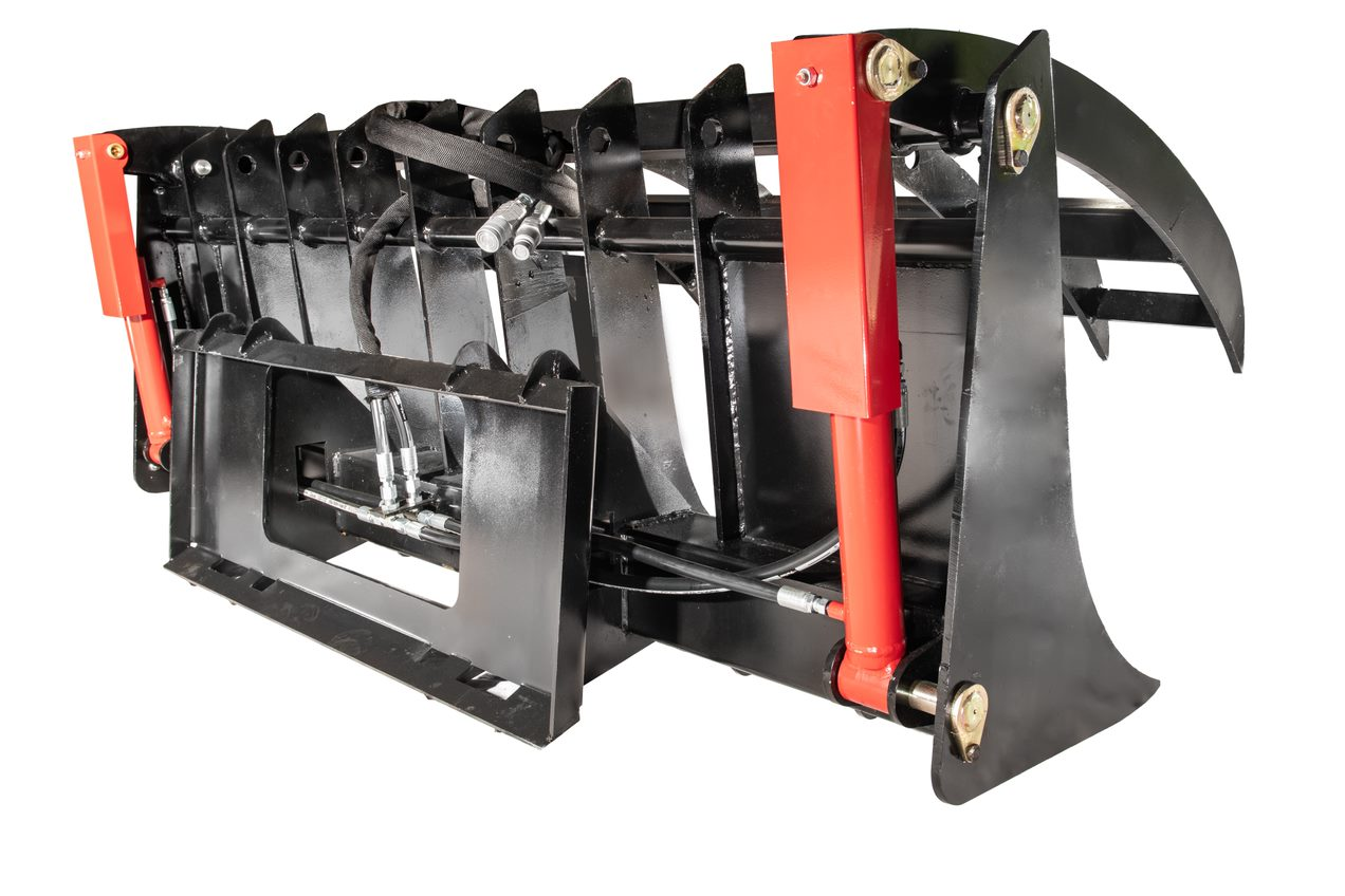 root rake for skid loaders
