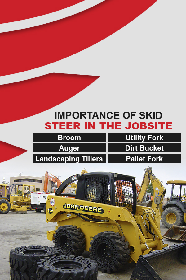 importance of skid steer on jobsite