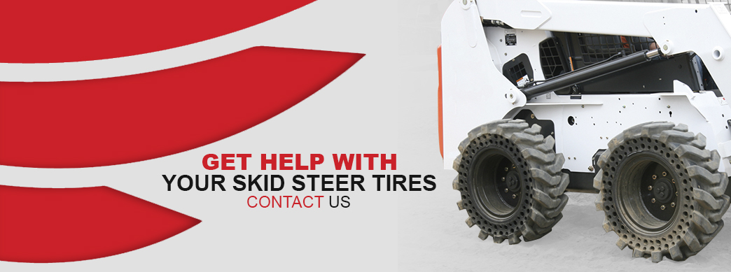 Get help choosing the right skid steer tires