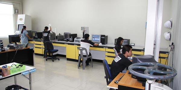 McLaren Quality Control Lab