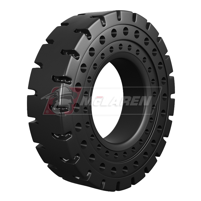 Nu-Air AT solid cushion OTR tire by McLaren