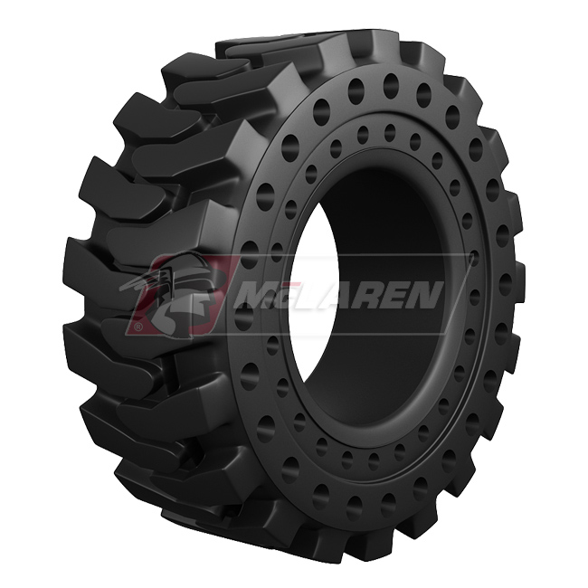 Nu-Air DT solid cushion OTR tire by McLaren