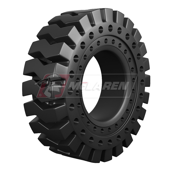 Nu-Air RT solid cushion OTR tire by McLaren