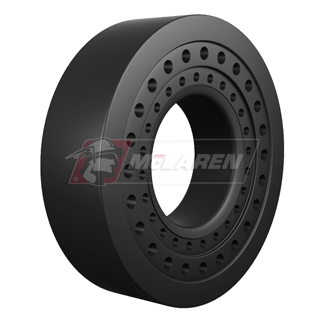 Nu-Air SS solid cushion OTR tire by McLaren