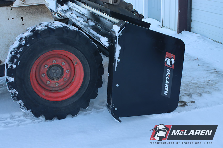 Skid Steer Snow Pusher Box