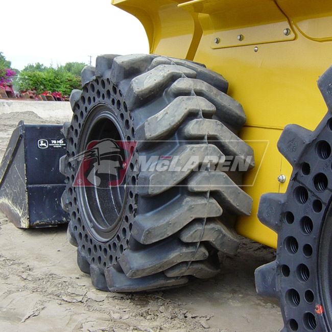 Solid Skid Steer Tires - Buy Flat Proof Skid Steer Tires