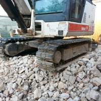 Hybrid tracks for Bobcat X331 in Italy