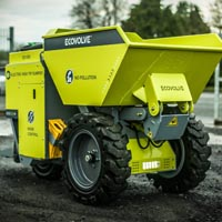 Ecovolve Electric Dumper to be Equipped with McLaren Solid Cushion Tires