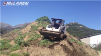 Land clearing with McLaren OTTs