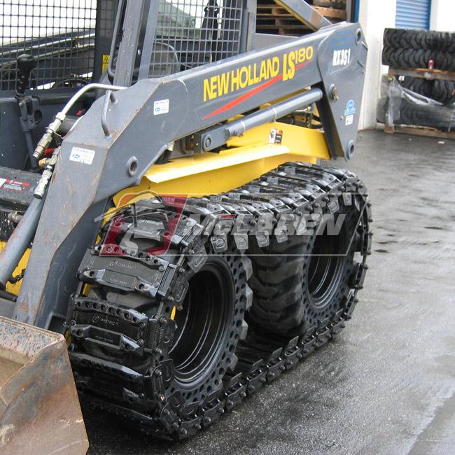 Over The Tire Skid Steer Tracks Mclaren Industries