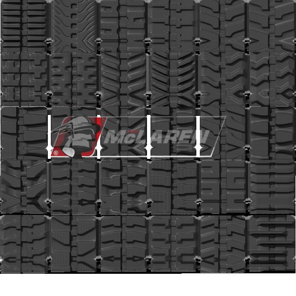 Rubber Tracks - Buy Heavy Duty Rubber Tracks For Equipment