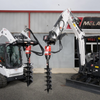 How to Choose the Best Hydraulic Auger for Your Skid Loader