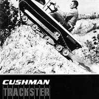 McLaren Manufactures Rubber Tracks for the vintage Cushman Trackster