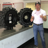Solid Skid Steer Tires vs. Segmented Solid Tires