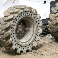 McLaren solid cushion tires for skid steer loaders - Bobcat S220