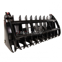 Clam Style Root Rake Grapple
