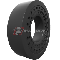 Smooth Surface - solid cushion tires for heavy equipment