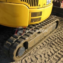 NextGeneration Series rubber tracks on a Jogn Deere 27C ZTS mini excavator