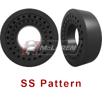 SS Pattern - Solid Cushion Tires for skid steers, backhoes, telehandlers, wheel loaders