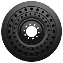 Nu-Air® (SS) Tire (Front View)