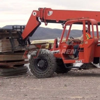Telehandler cushion tires for JLG Skytrak