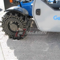 Compact Telehandler Tires on a Genie GTH5519