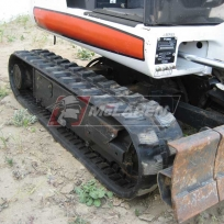 Mini excavator rubber tracks for Bobcat X323 excavator